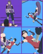 Sarada got pantsed